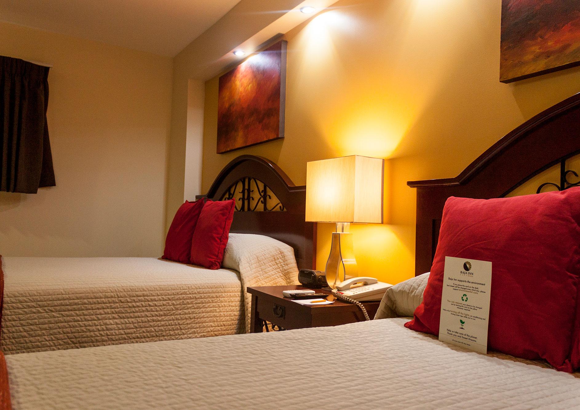 habitacion ejecutiva dos camas hotel la mesa