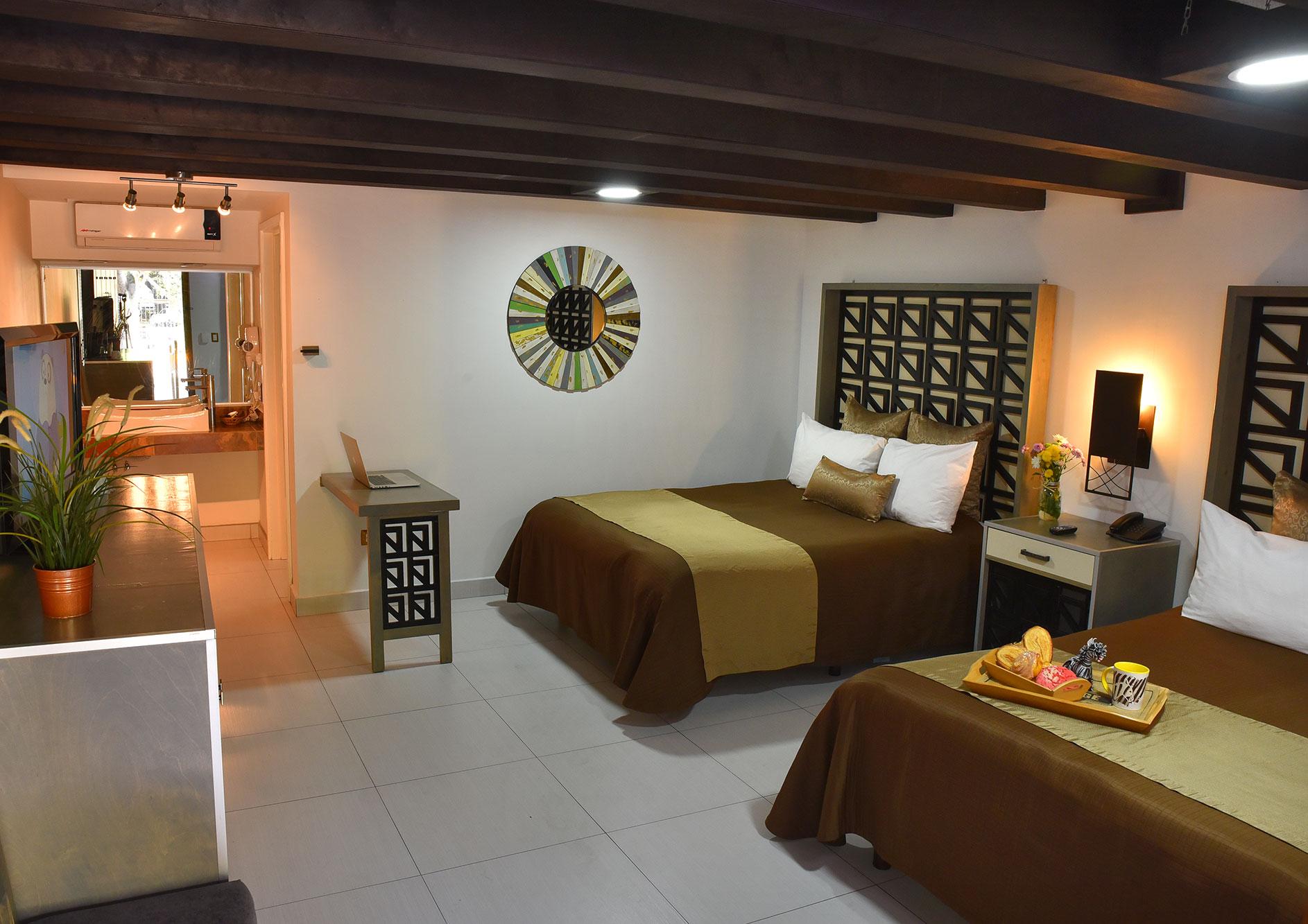 habitacion handicap hotel hacienda del rio