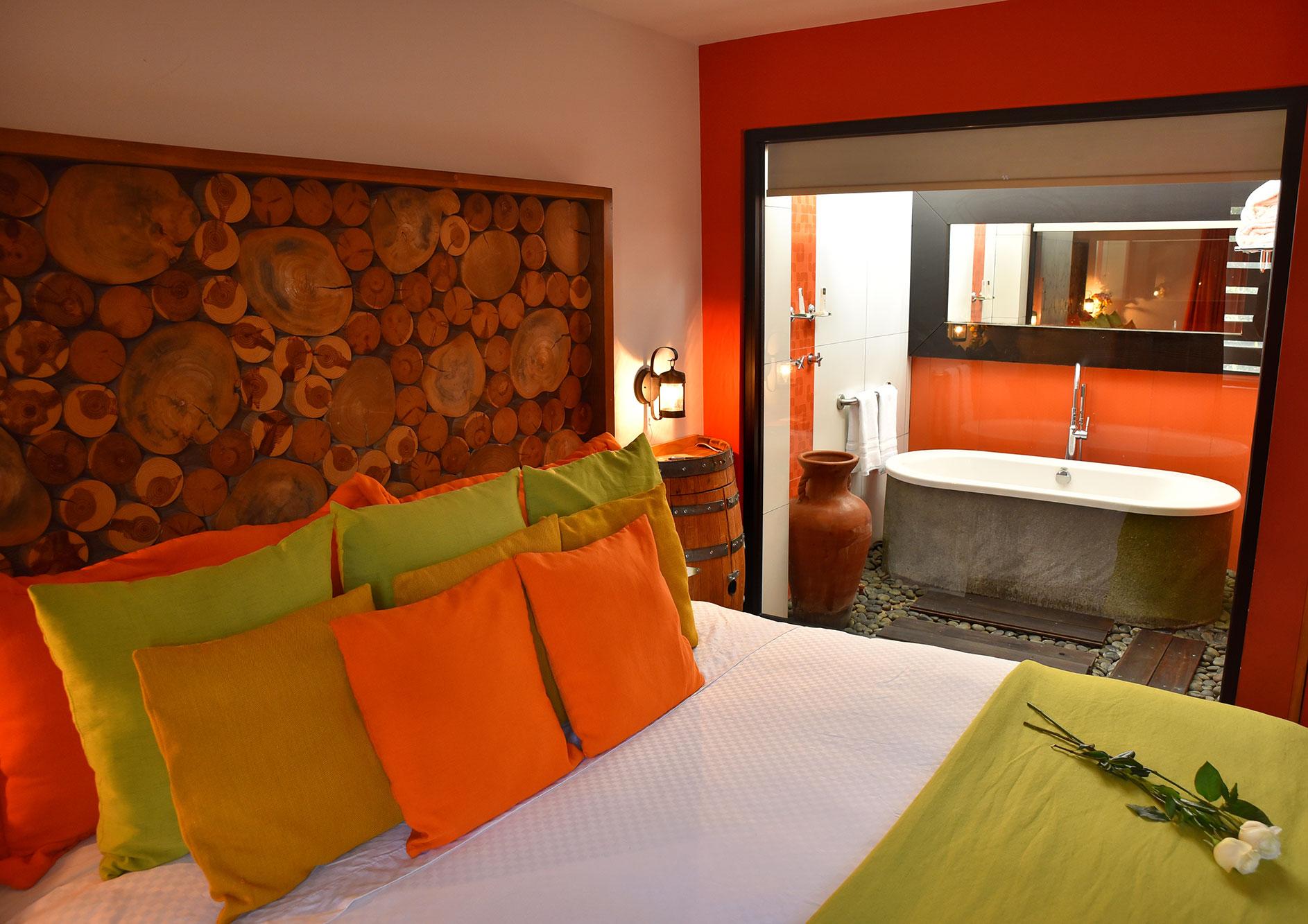 habitacion master suite hotel hacienda del rio