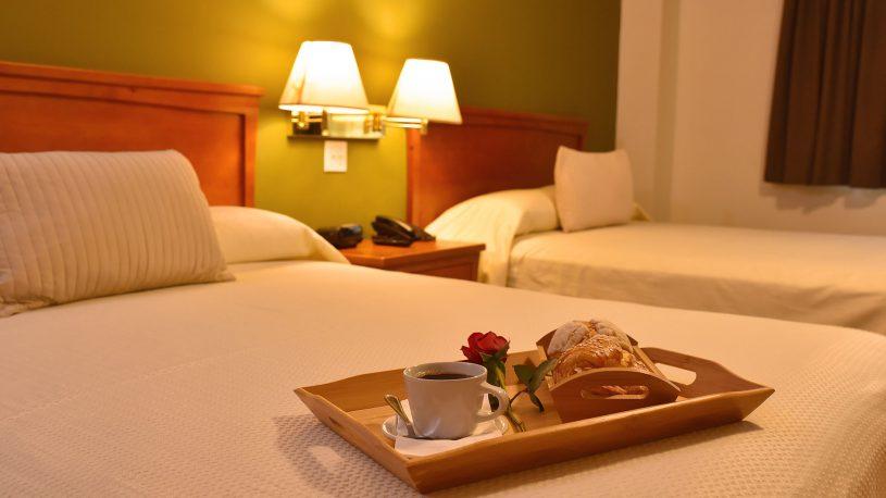 habitacon plus dos camas hotel la mesa