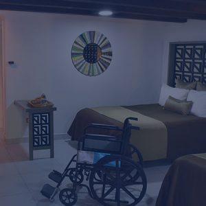 habitaciones handicap hotel hacienda del rio