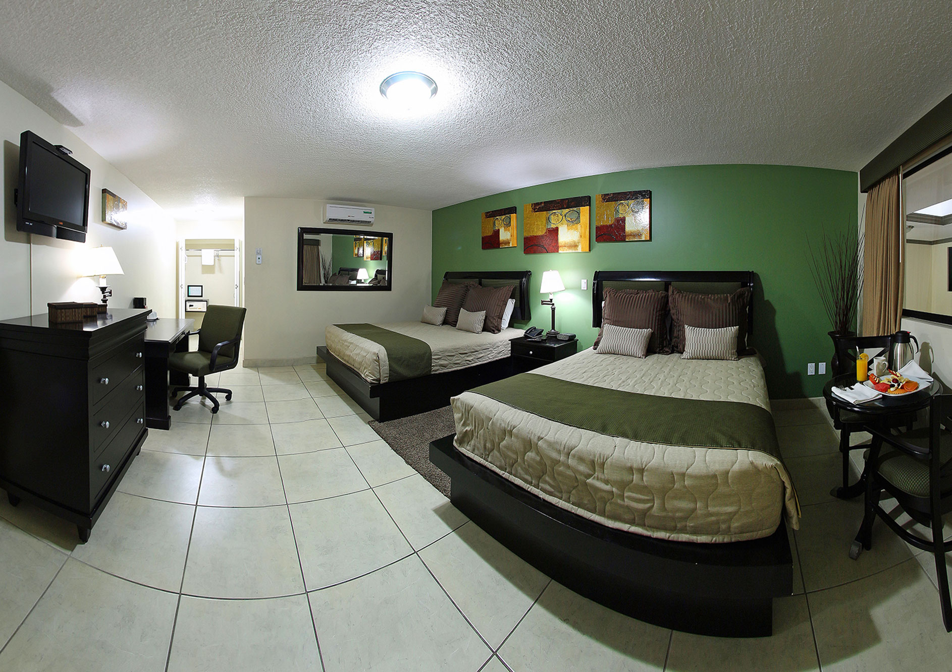 habitacion premier dos camas