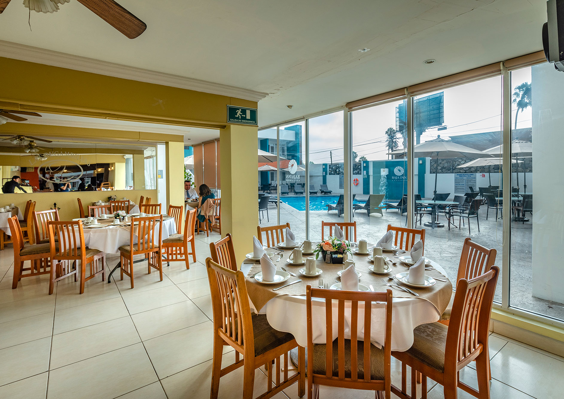 restaurante hotel e ensenada