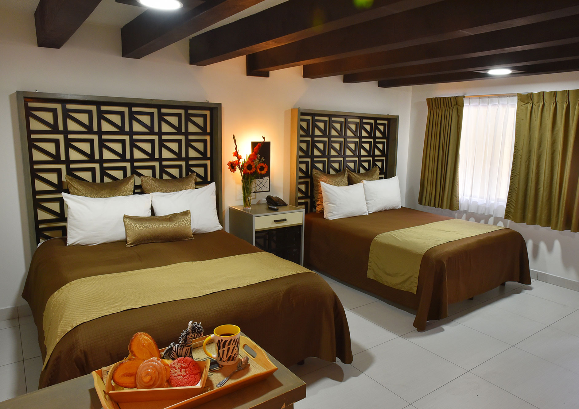 habitacion doble hotel hacienda del rio tijuana