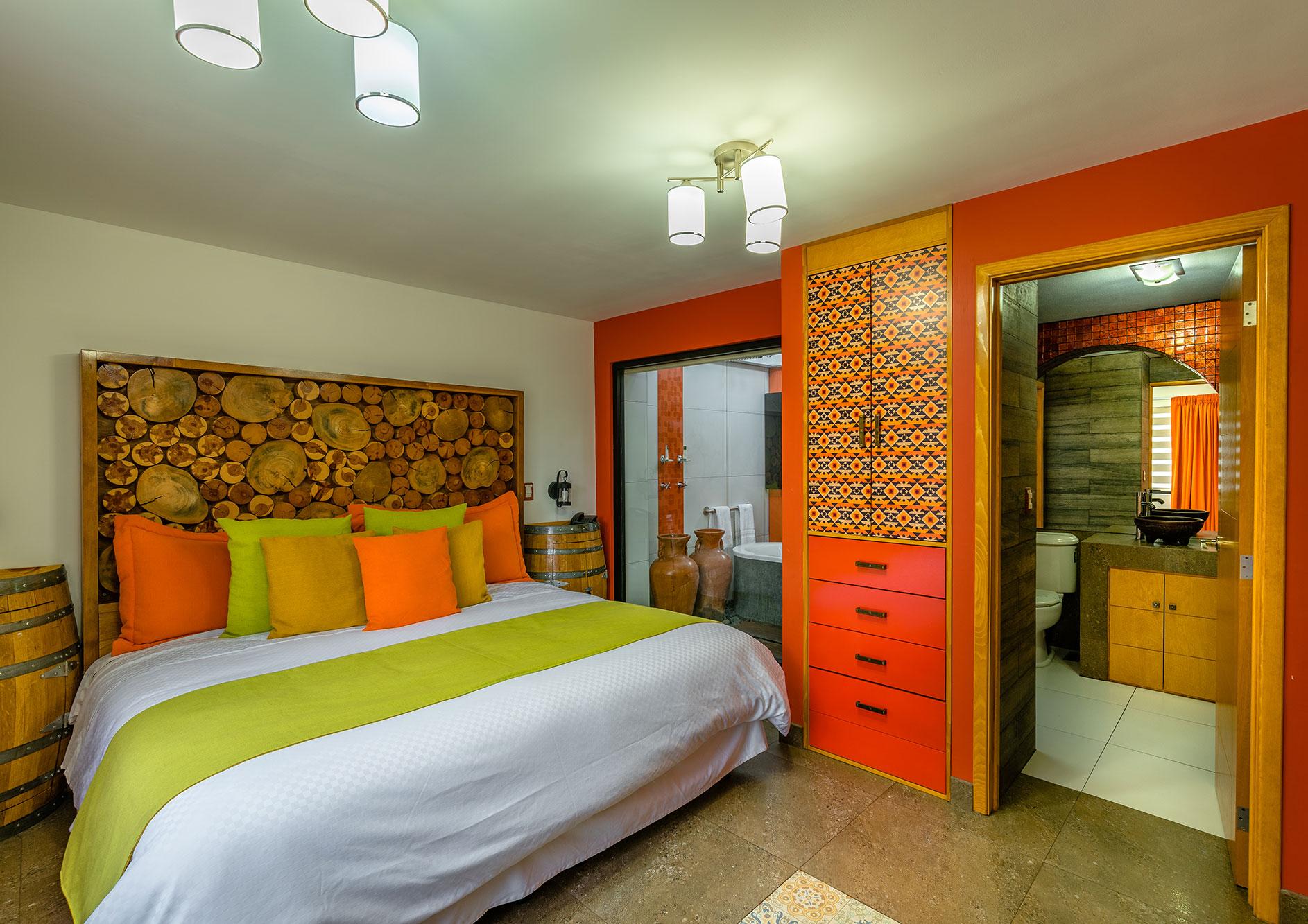 habitacion sencilla hotel hacienda del rio
