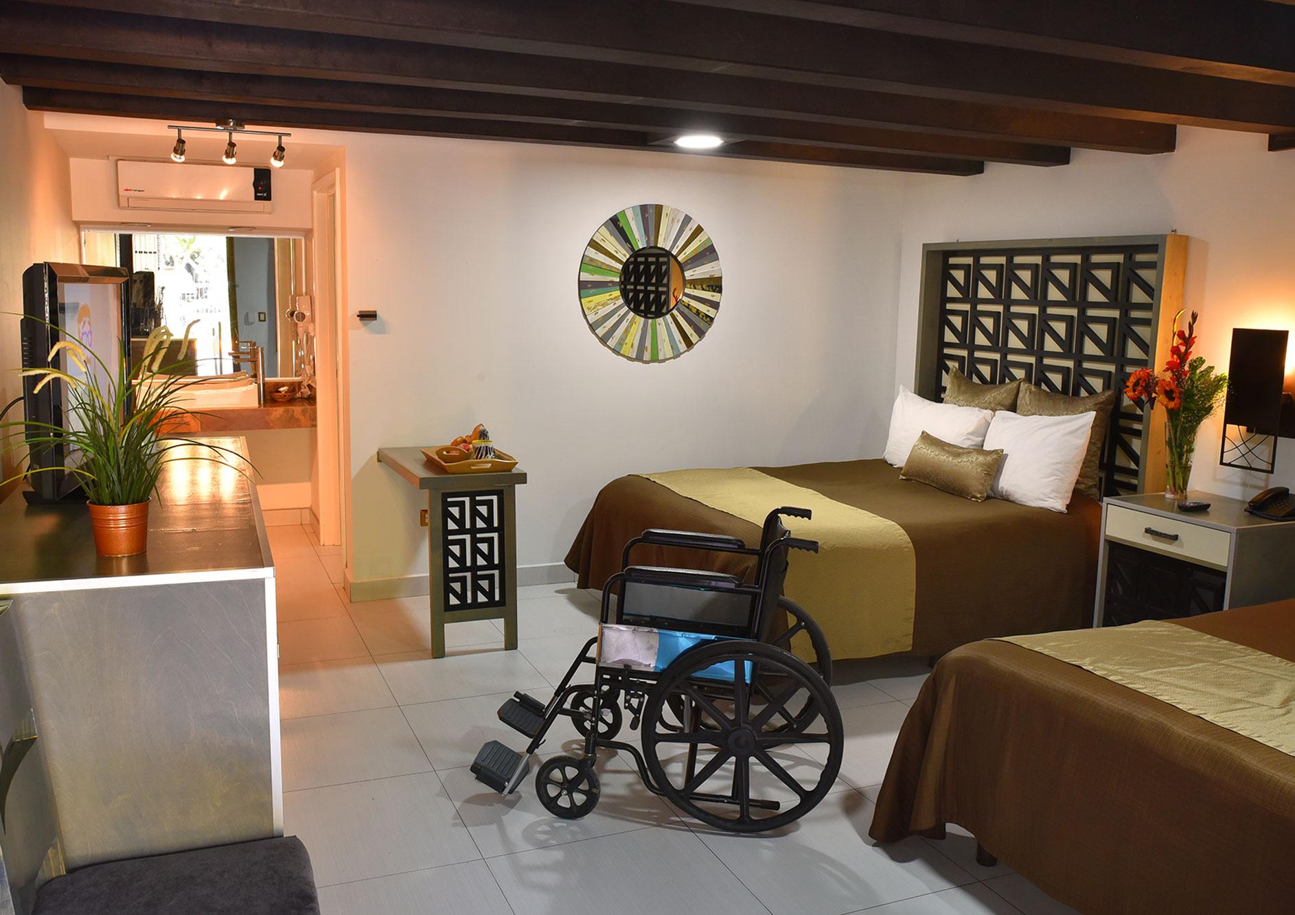 habitacion handicap hotel haciendo del rio tijuana